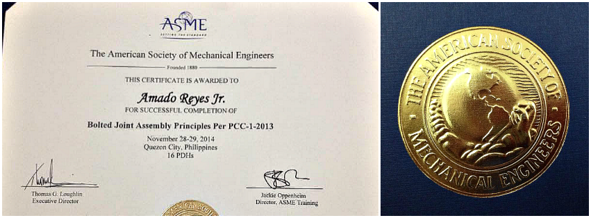 chemical industries philippines american society of mechanical engineer