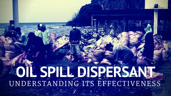 redox oil spill dispersant philippines