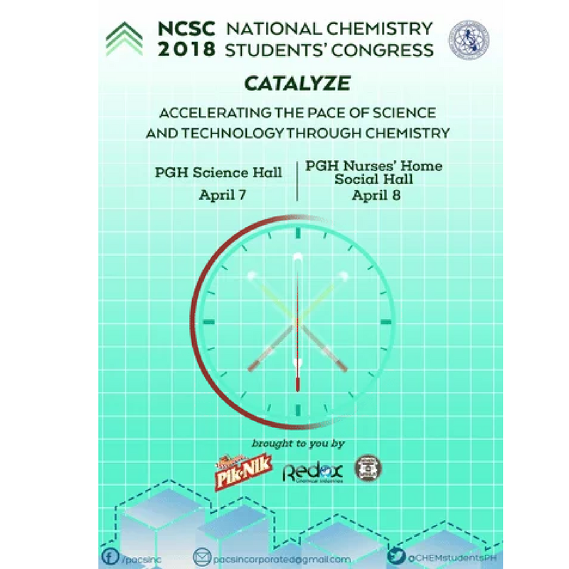 NATIONAL CHEMISTRY STUDENTS' CONGRESS 2018