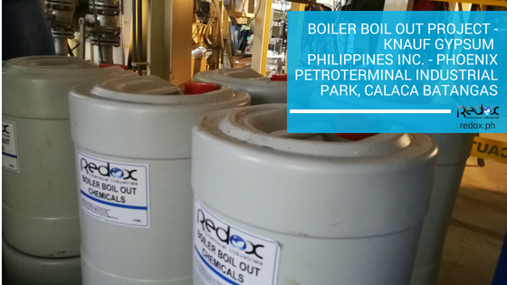 boiler boil out project in the philippines