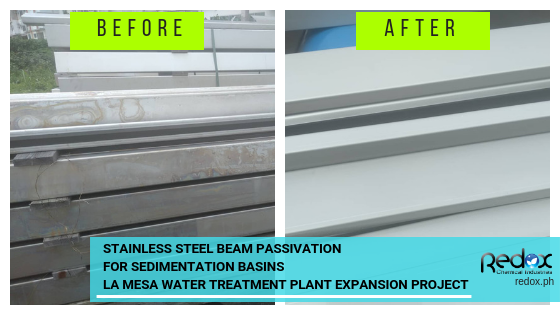 Stainless Steel Beam Passivation - La Mesa Treatment Plant