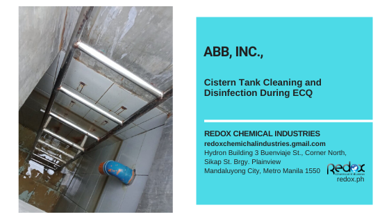 tank cleaning in the Philippines Redox Chemical