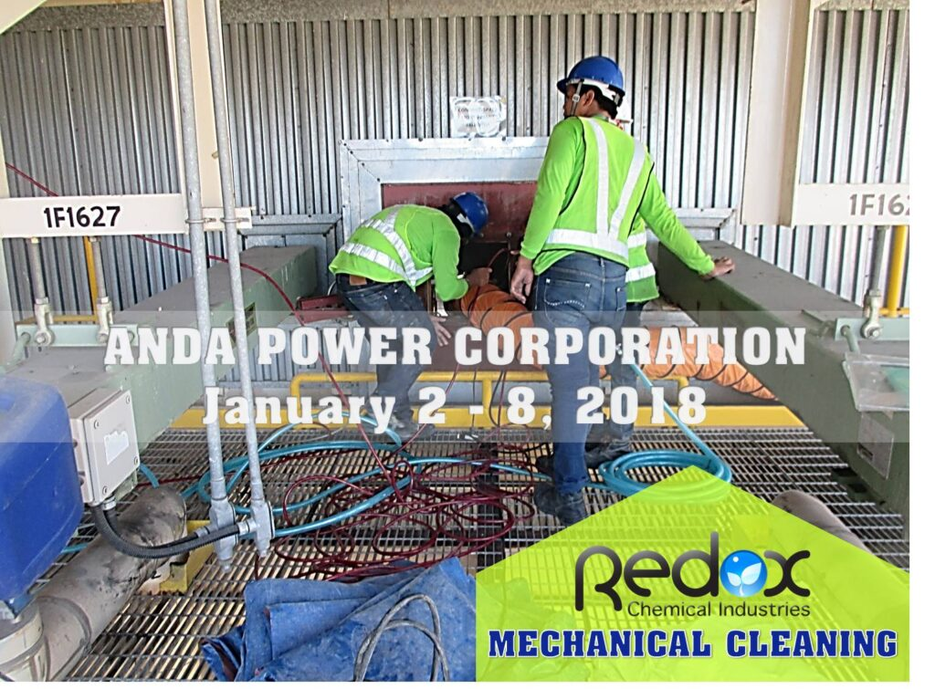 Anda Powerplant Cleaning of Backpass 2