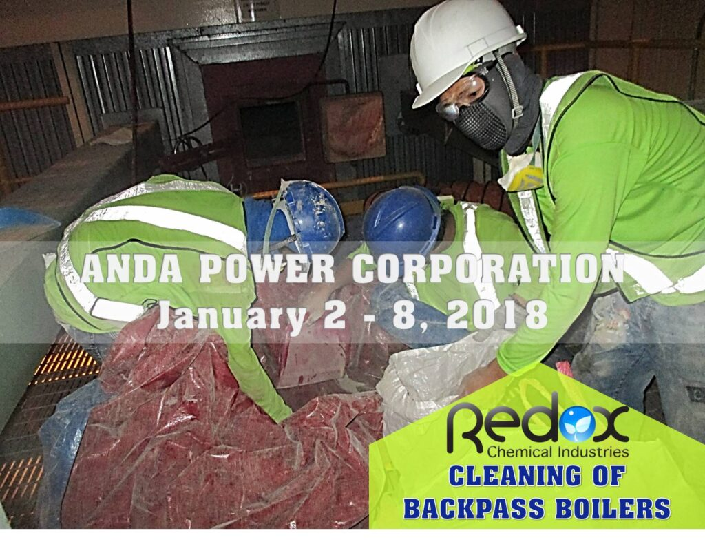 Anda Powerplant Cleaning of Backpass 3