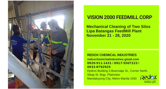 industrial silo cleaning service in the philippines