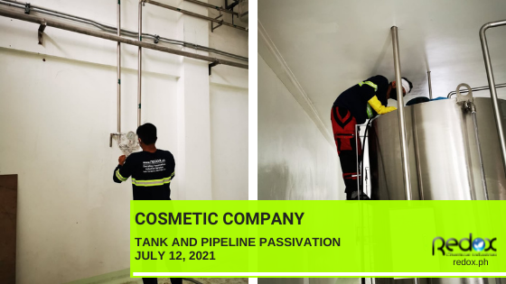 tank and pipeline passivation industrial cleaning services in the philippines