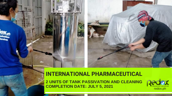 passivation industrial cleaning services in the philippines
